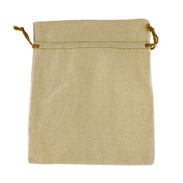 "Large Linen Bag/ Blank - 10"" x 8"" (Empty)"