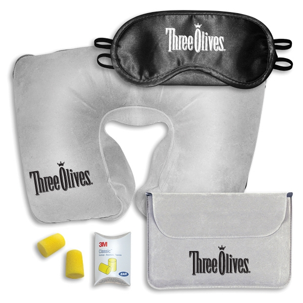 Travel Pillow Sleep Mask Comfort Kit
