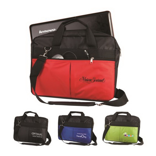 The Motivator Business Bag with Removable Laptop Sleeve - GOimprints 0a8618c264637