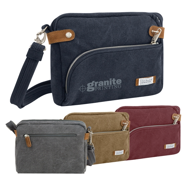 2163e5fd67a0 Travelon(TM) Anti-Theft Heritage Small Crossbody Bag. Request a Sample
