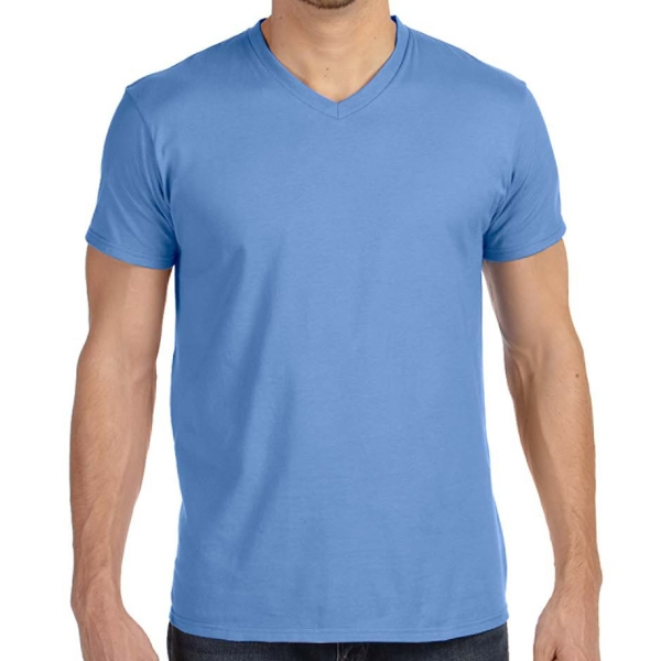 Hanes Men s Nano-T Cotton V-Neck T-Shirt - GOimprints da71a760a