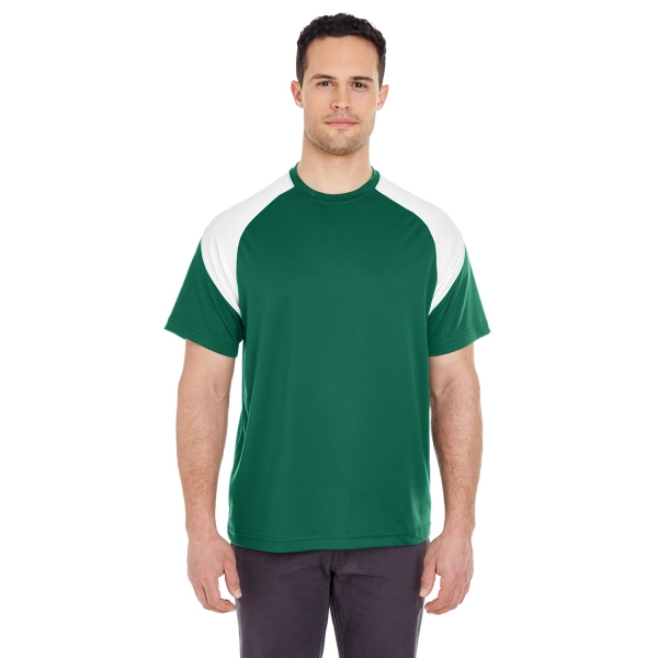 Adult Cool & Dry Sport Colorblock T-Shirt