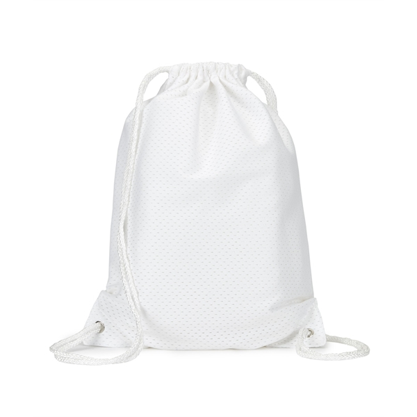 UltraClub by Liberty Bags Jersey Mesh Drawstring Backpack