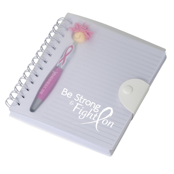 Awareness MopTopper (TM) Stylus Pen & Notebook Set