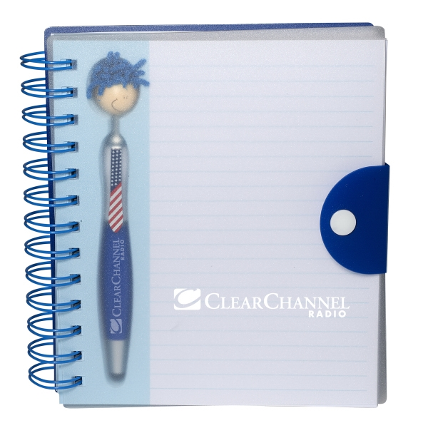 Patriotic MopTopper (TM) Pen & Notebook Set