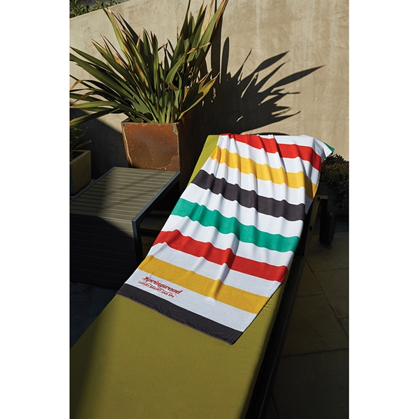 Stock Design Stripe Beach Towel