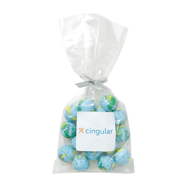 Mug Stuffer Bag / Chocolate Earth Balls (4 oz)