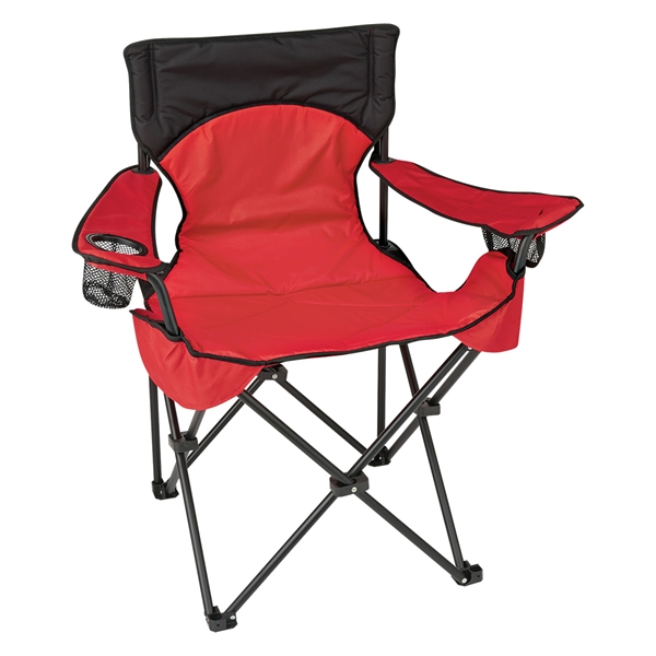 Deluxe Padded Folding Chair With Carrying Bag Goimprints