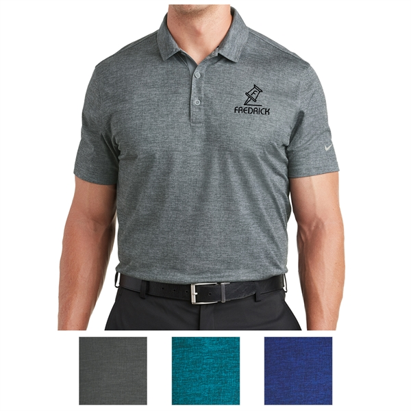 fb1fb14b6d1f8 Nike Golf Dri-FIT Crosshatch Polo - GOimprints