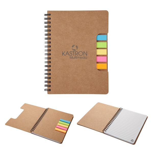 Montana Mini Journal with Sticky Flags