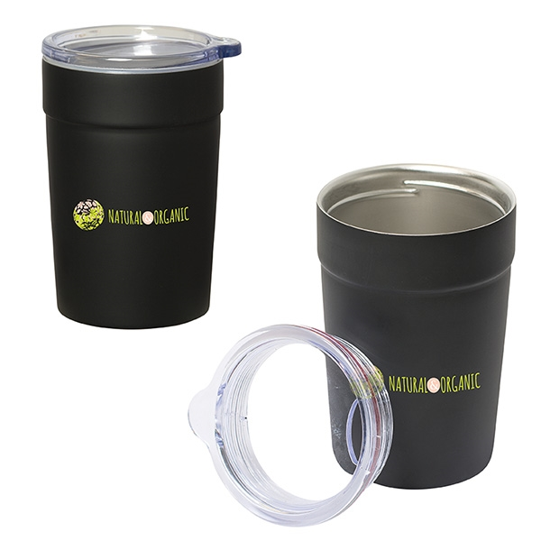 CHILL ZONE 360 ML. (12 OZ.) 2-IN-1 CAN INSULATOR/TUMBLER