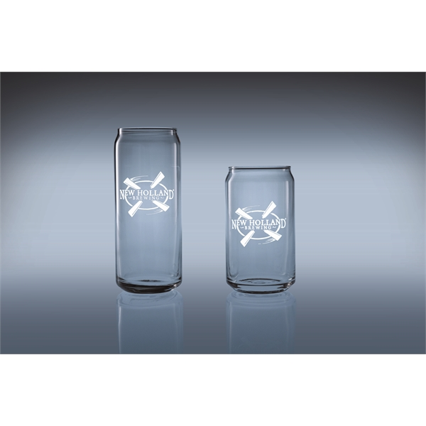 20 oz Tall Boy Beer Can Shape Glass Sets