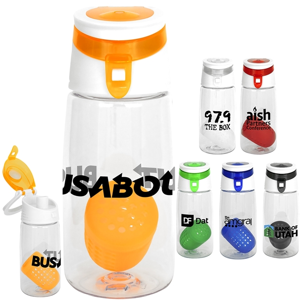Trendy 18 oz. Bottle with Floating Infuser