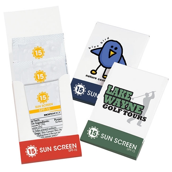 SPF-15 Sunscreen Lotion Pocket Pack