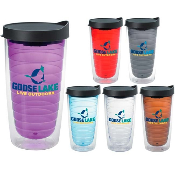 Color Splash Tumbler - 16 oz.
