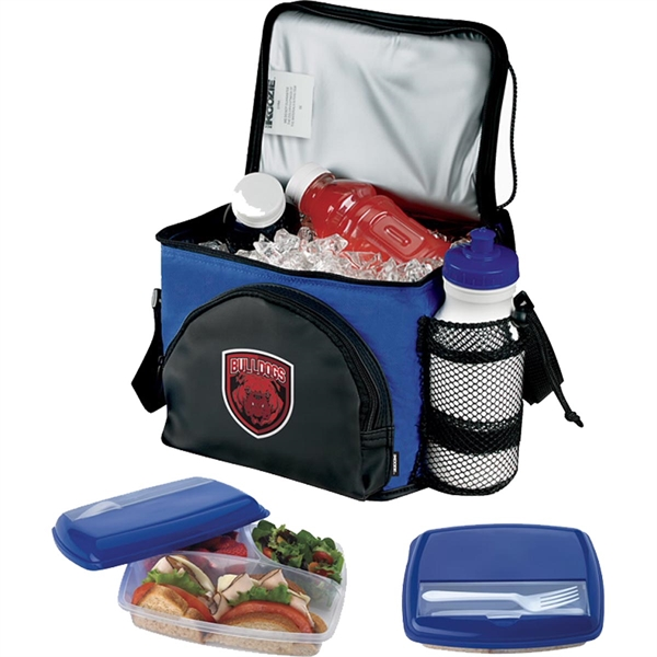 Koozie (R) Super-Six Pack Combo with Lunch Container