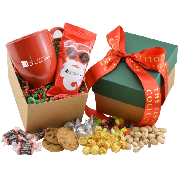Mug and Chocolate Covered Sunflower Seeds Gift Box