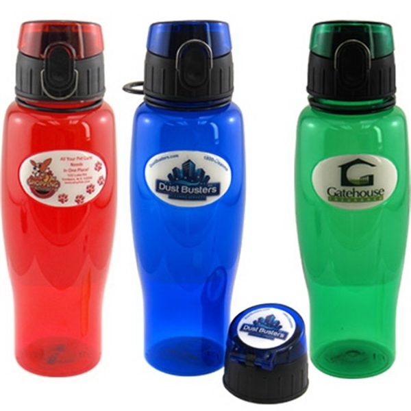 24 oz Sport Bottle with Full Color Dome