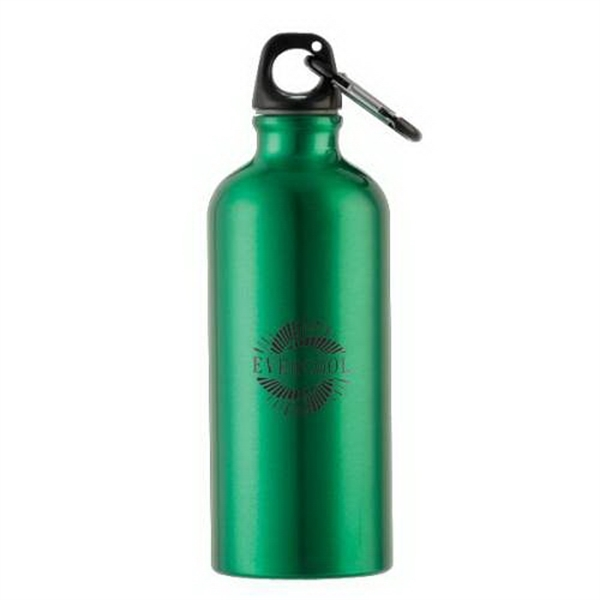 20 oz Aluminum Bottle with Carabiner
