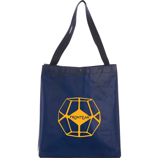 Medium Laminated Non-Woven Shopper Tote