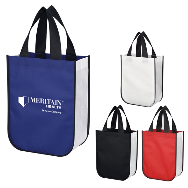 Little Shiny Non-Woven Shopper Tote Bag
