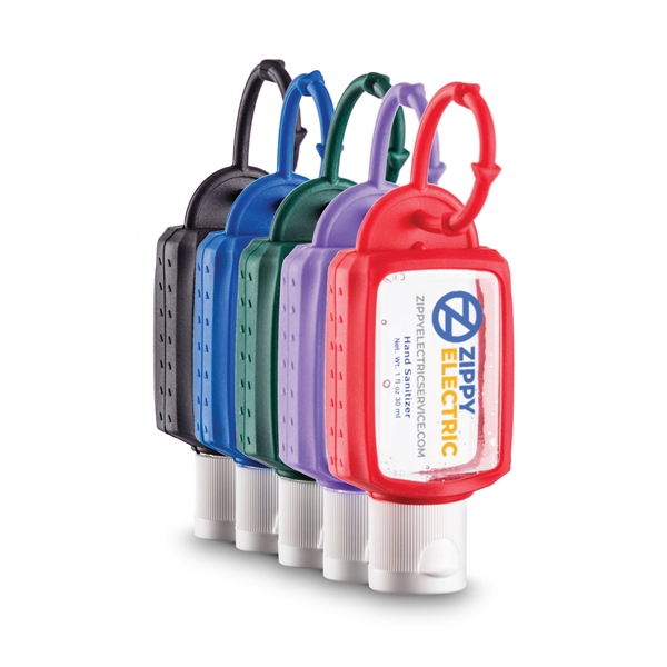 1 oz Hand Sanitizer with Silicone Leash