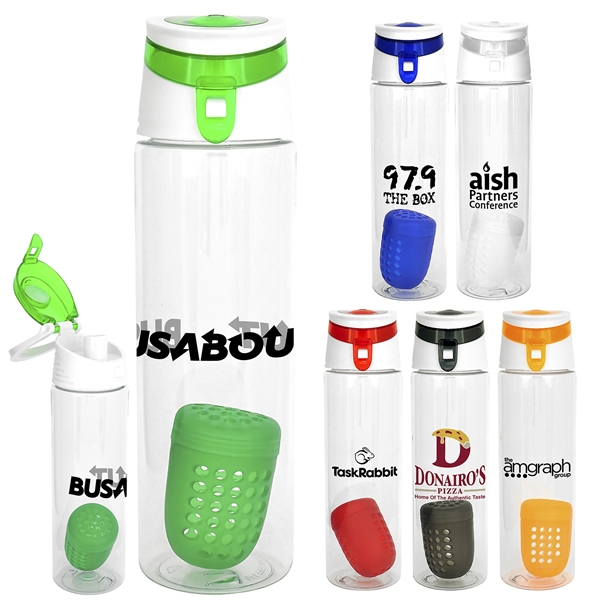 TRENDY 24 OZ. BOTTLE WITH FLOATING INFUSER