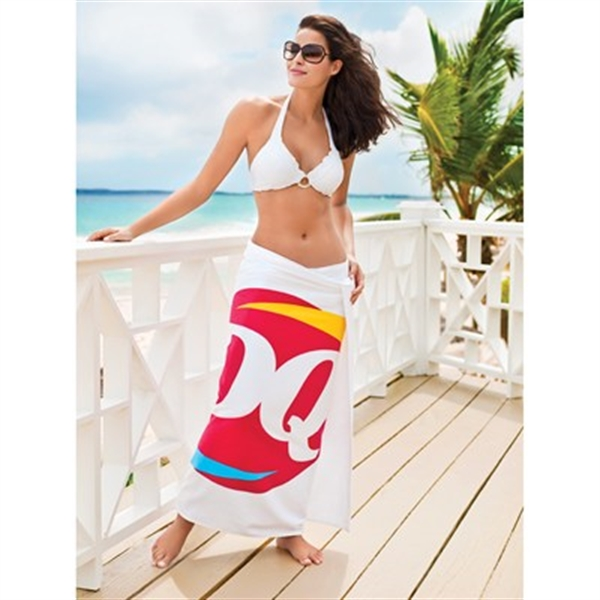 Turkish Signature Ultraweight Colored Beach Towel
