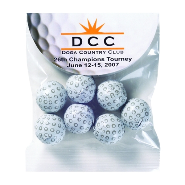 18th Hole Header Bag - Chocolate Golf Balls