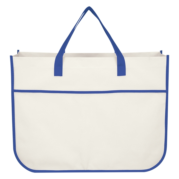 Non-Woven Galleria Shopper Tote Bag
