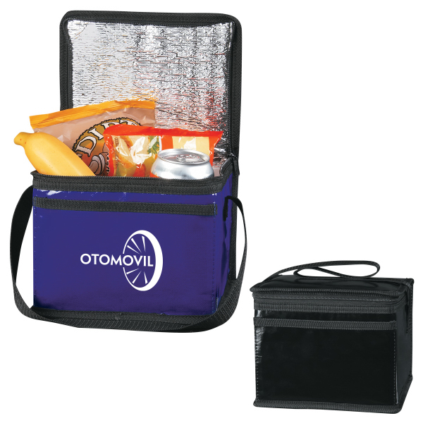 Laminated Non-Woven Six Pack Kooler Bag