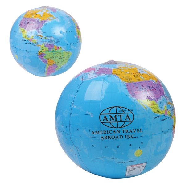"14"" Global Beach Ball"