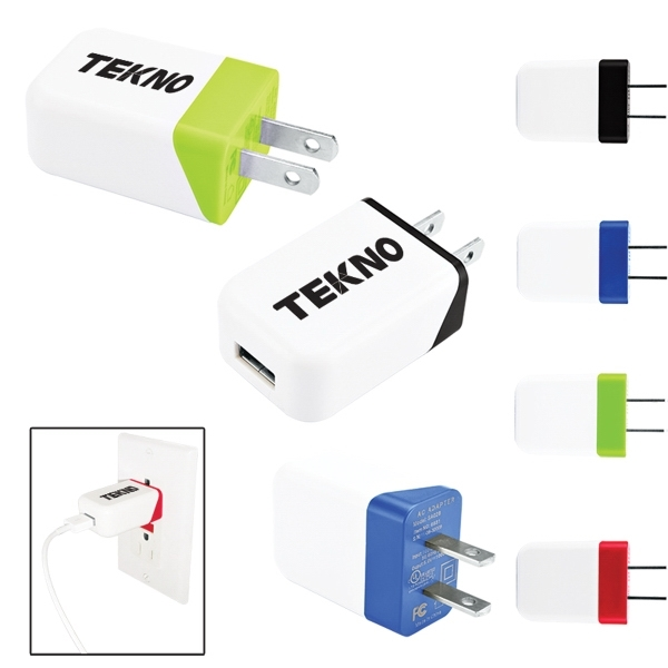 Two Tone USB to AC Adapter - UL Certified