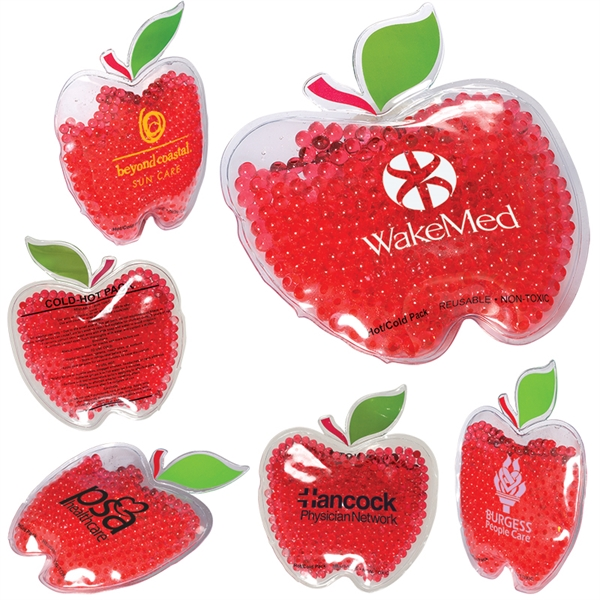 Gel Bead Hot/Cold Pack in Apple Shape