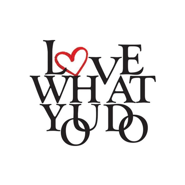Love What You Do Metallic Temporary Tattoo