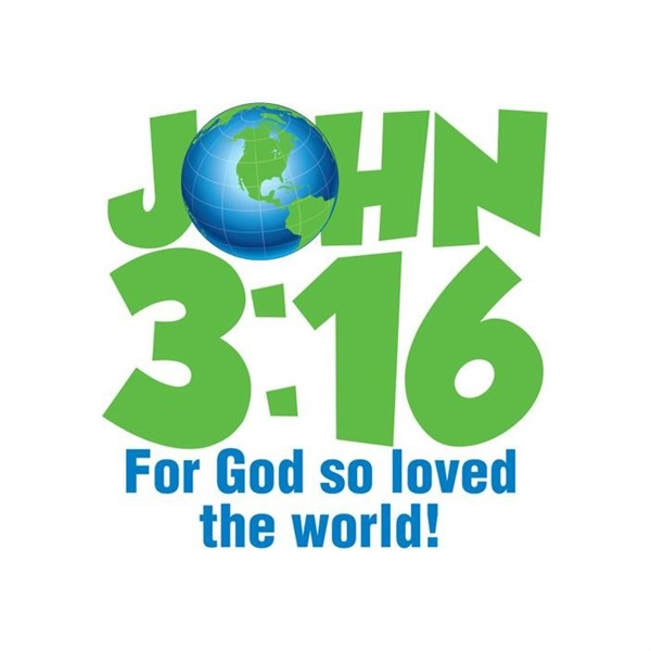 John 316 Earth Temporary Tattoo Goimprints
