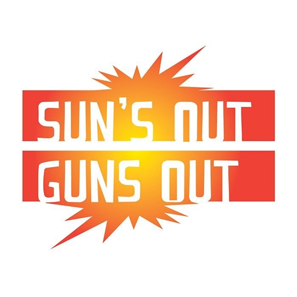 Suns Out Guns Out Temporary Tattoo