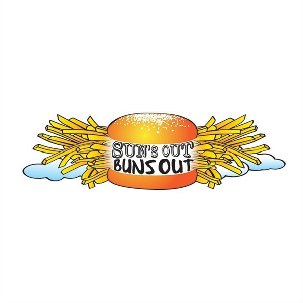 Suns Out Buns Out Lower Back Temporary Tattoo