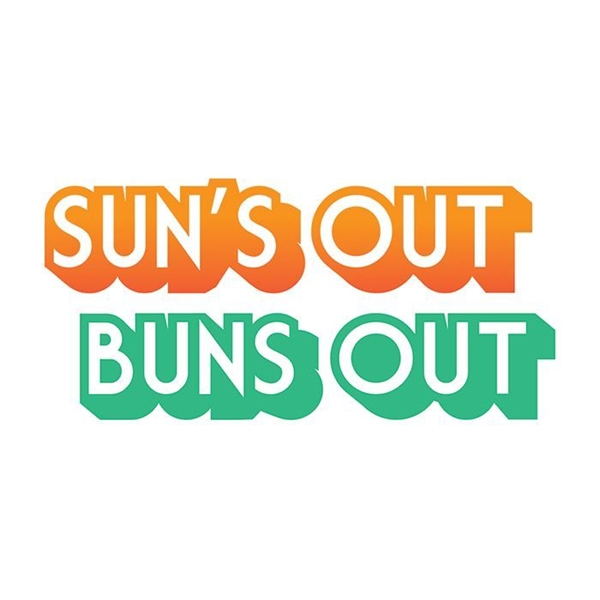 Suns Out Buns Out Temporary Tattoo