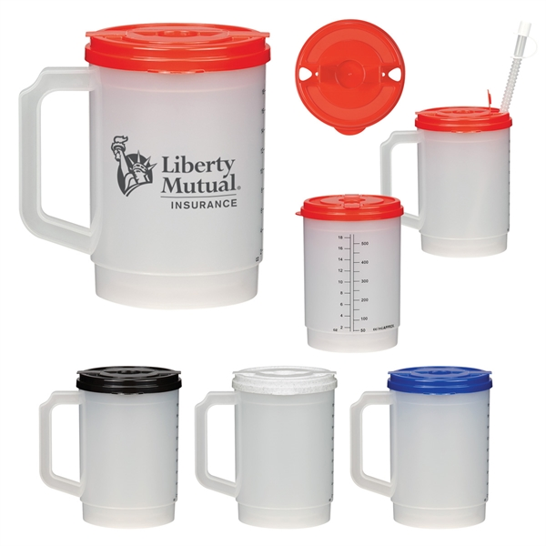 20 Oz. Medical Tumbler With Measurements