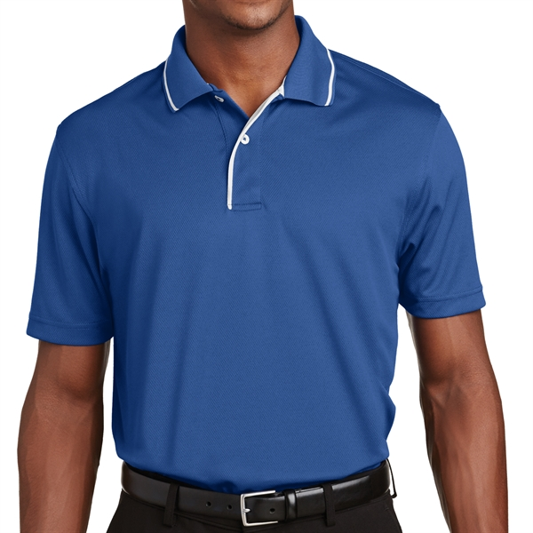 22ce3f9f9a Sport-Tek Dri-Mesh Polo with Tipped Collar and Piping - GOimprints