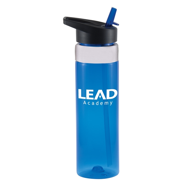 Tritan Sports Bottle with Stainless Accent