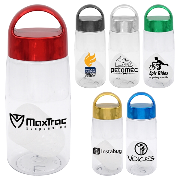 METALLIC ARCH 18 OZ. BOTTLE WITH FLOATING INFUSER