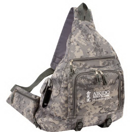 Camoulfage sling backpack