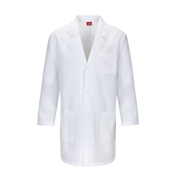 Dickies Unisex Notched Collar Lab Coat (Certainty Plus®)