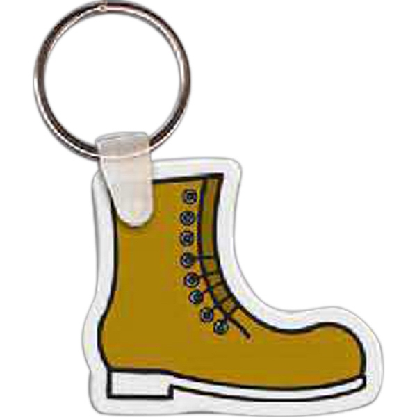 Work Boot Key Tag
