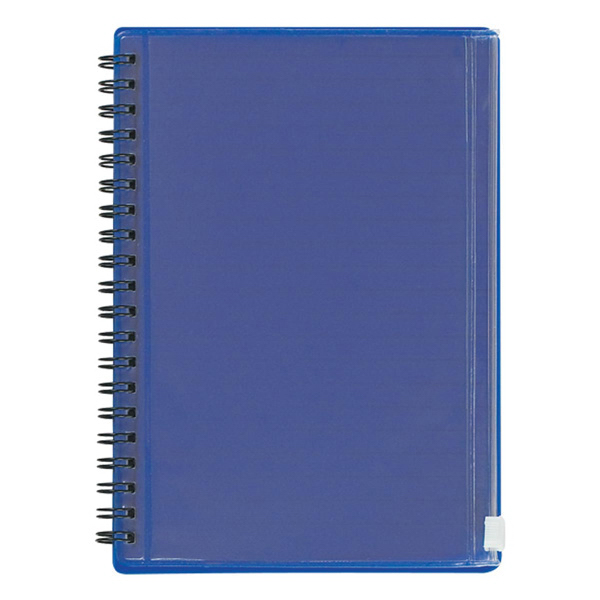 Spiral Notebook With Pouch Goimprints