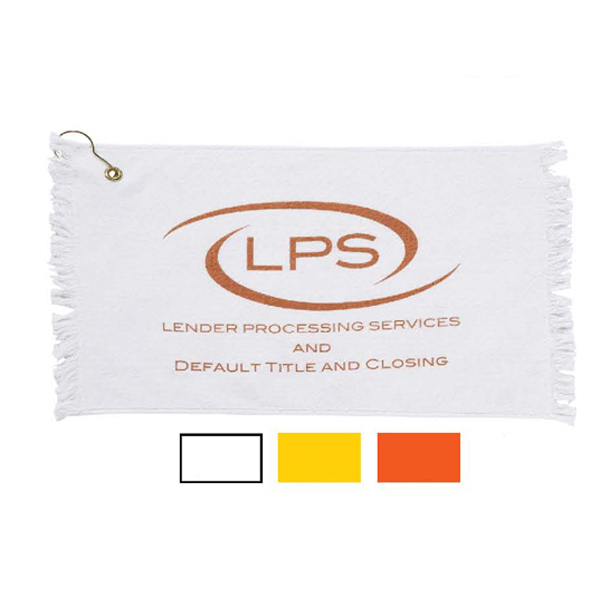 Promo Weight Fringed Loop Terry Golf Towels