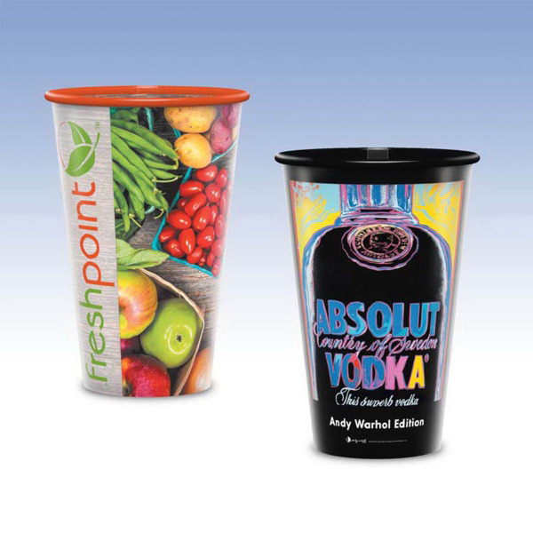 16oz Tall-Reusable Clear Plastic Cup-Hi-Definition FC