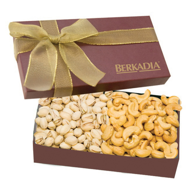 The Executive Cashew & Pistachio Food Gift Box - Nuts